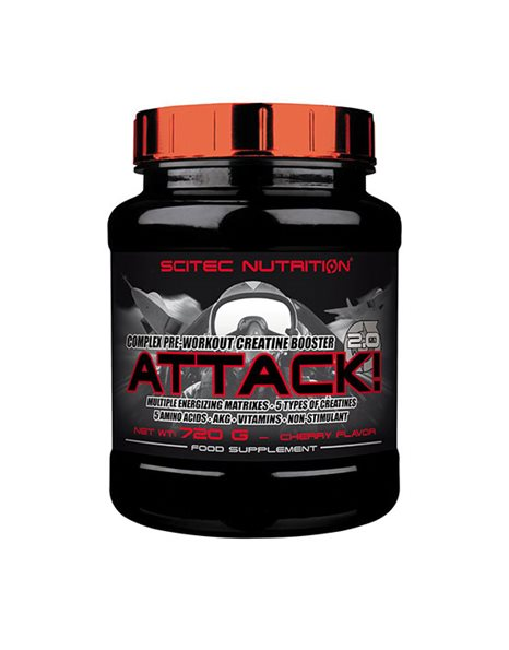 Scitec Nutrition Attack 2.0 (720g)
