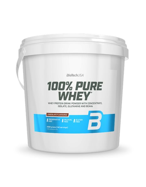 BioTech USA 100% Pure Whey (4κg)