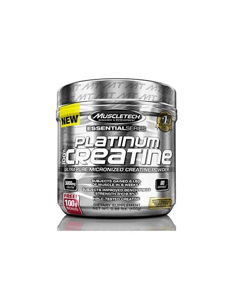 MuscleTech Platinum 100% Micronised Creatine 400gr