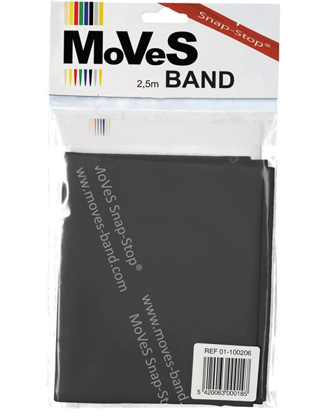 MoVeS Band 2.5m – Special Heavy (Μαύρο)